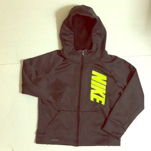 Nike boys dark gray jacket